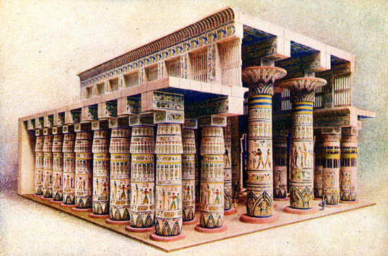 Ancient Egyptian Columns Ancient Egyptian Facts