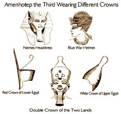 egyptian crowns information