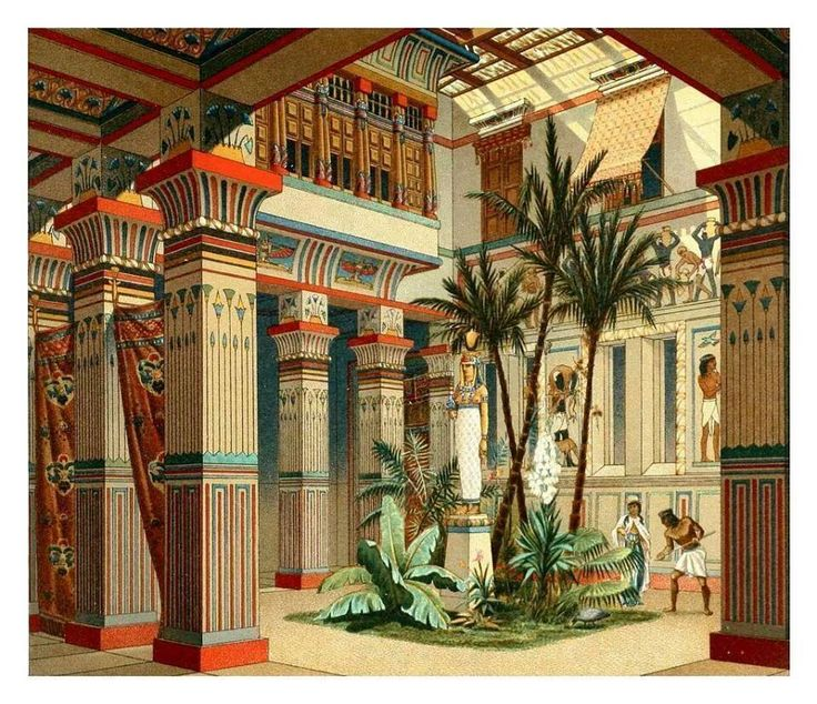 Furniture Interior Design Egypt ~ Egyptian palaces cartouche north palace amarna malqata
