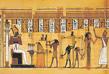 Egyptian Afterlife Beliefs and Rituals