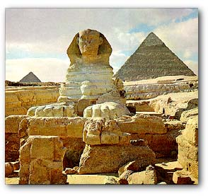 Egyptian Architecture Sphinx Of Giza Temple Of Luxor